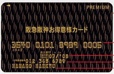 阪急阪神お得意様カードプレミアム