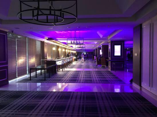 SPGの11ホテルブランドを体感できるラグジュアリーなガラディナーの会場