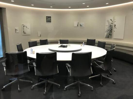 マネックス証券の会議室