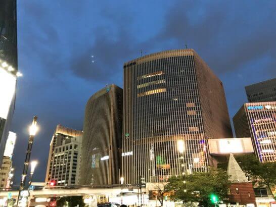 阪急メンズ東京とルミネ