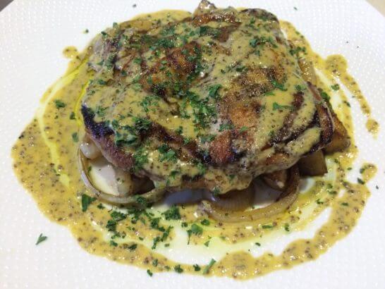 イタリア料理屋のチキン