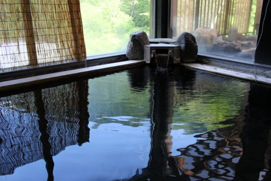 群馬県草津町の温泉