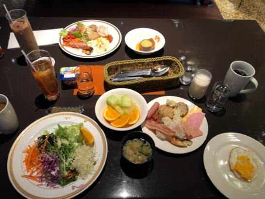 ヒルトン東京ベイの朝食