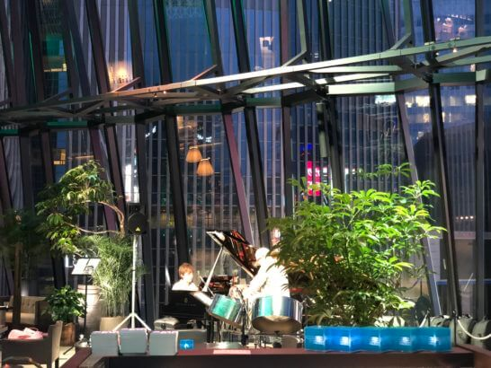 THE GREEN Cafe American Express×数寄屋橋茶房のJAZZライブ