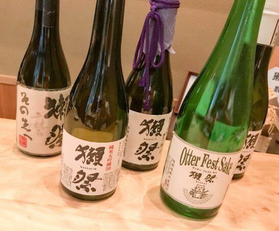 獺祭の高級酒