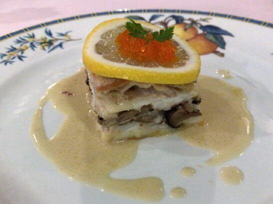 マーヴェラス パラディ白金のお魚料理