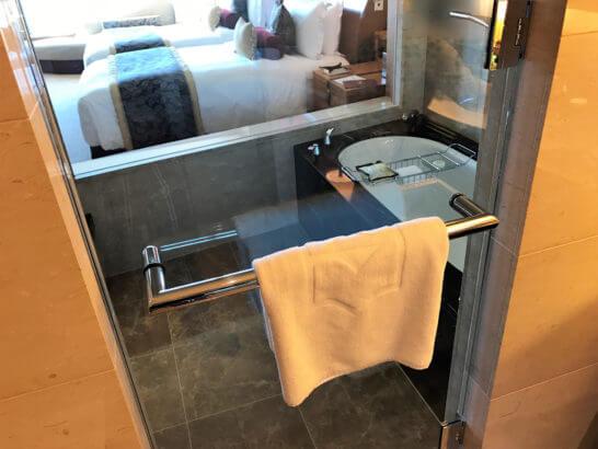 シャングリラホテル東京の浴室