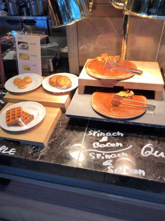 東京マリオットホテルの朝食のエッグステーション