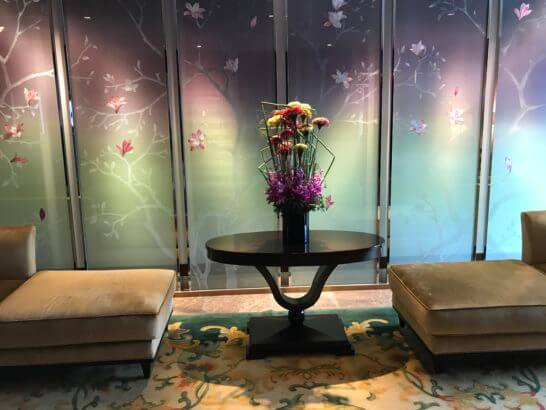 シャングリ・ラホテル東京のソファー