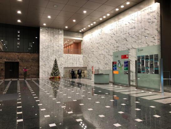 住信SBIネット銀行のオフィスがある泉ガーデンタワー