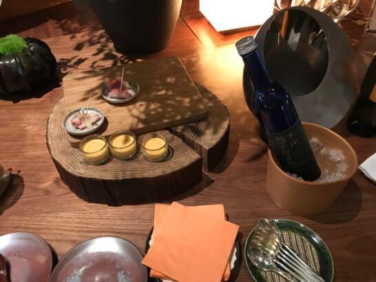 アンダーズ東京の宿泊者ラウンジのコールドミート