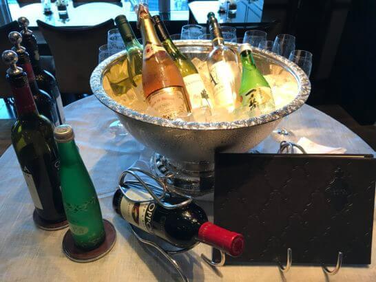 シャングリ・ラ ホテル東京のホライゾンクラブラウンジの酒類