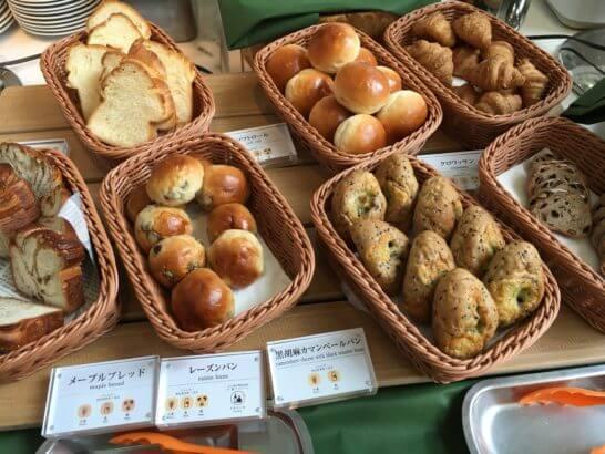 吉祥寺第一ホテルの朝食 (パン)