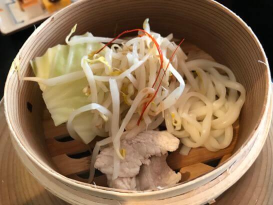 フルーツパーク富士屋ホテルの和朝食の蒸し料理