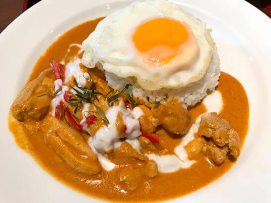 タイ料理のカレー