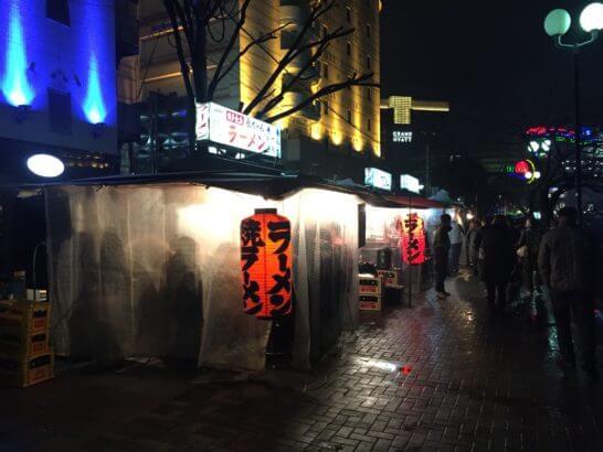 福岡の中洲の屋台