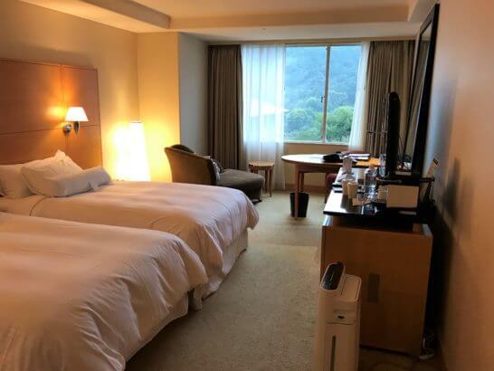 ウェスティン都ホテル京都の客室