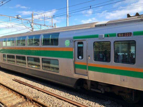 東海道線のグリーン車両