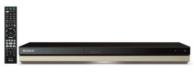 ソニーブルーレイディスク/DVDレコーダー(BDZ-ZT2500)