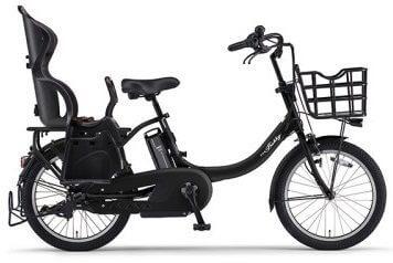 YAMAHA電動アシスト自転車(Bubby un リアチャイルドシート標準装備モデル)