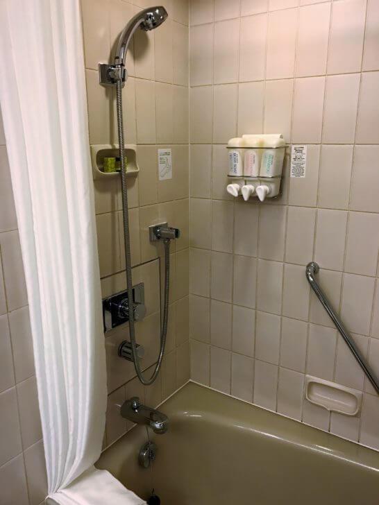 ANAインターコンチネンタルホテル東京のクラシックルームのバスルーム