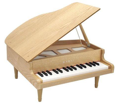 カワイミニグランドピアノ(木目)