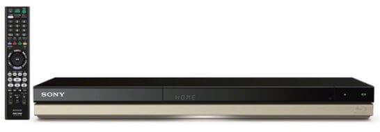 ソニー ブルーレイ/DVDレコーダー「BDZ-ZW550」