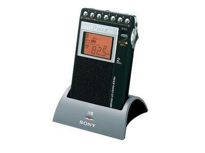 ソニーFM/AM PLLシンセサイザーラジオ