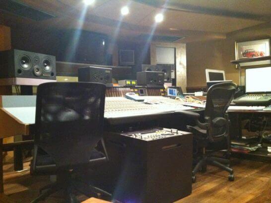 音楽スタジオ