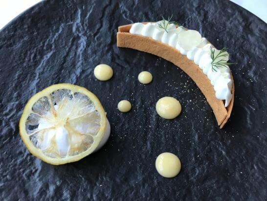 コラージュの瀬戸内レモンのタルトシトロン メレンゲとジュレ