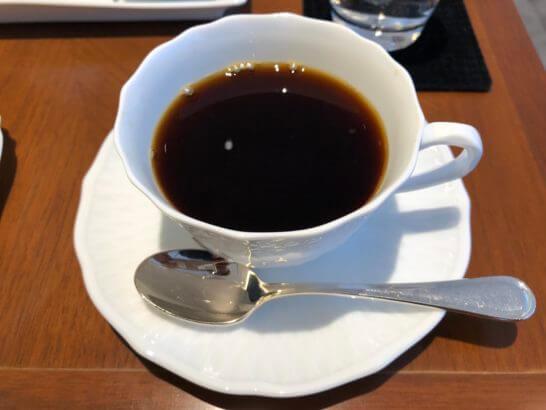 ビューゴールドラウンジのコーヒー