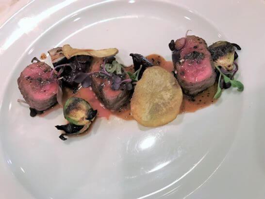 伊勢丹のコース料理 (肉料理)