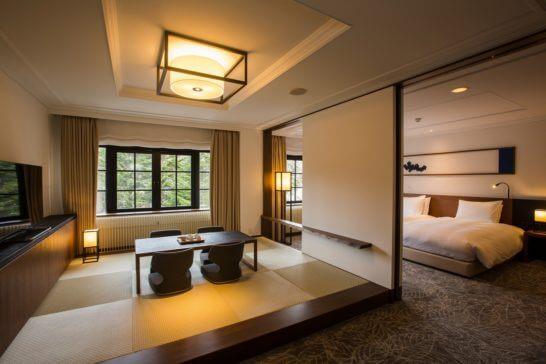 ヒルトン軽井沢の客室 (プレミアム ウィズタタミ)