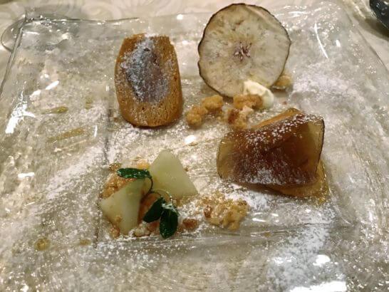 伊勢丹のコース料理 (デザート)