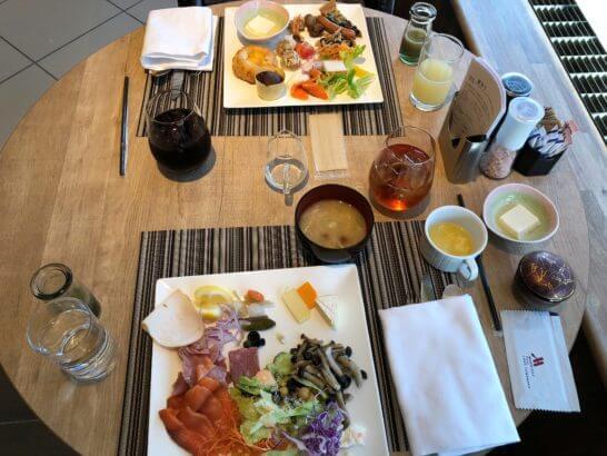 富士マリオットホテルの朝食