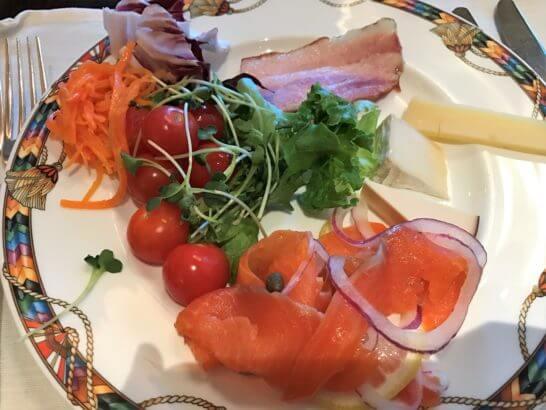 ウェスティンホテル東京の朝食 (コールドミール)