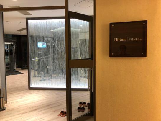 ヒルトン小田原のフィットネスセンター