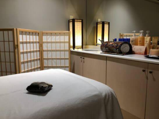 軽井沢マリオットホテルのアロママッサージサロン