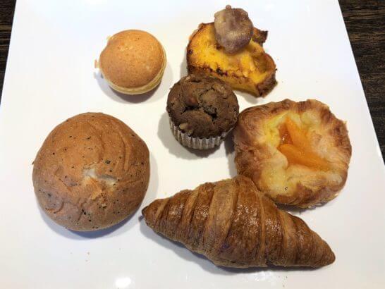 軽井沢マリオットの朝食のパン