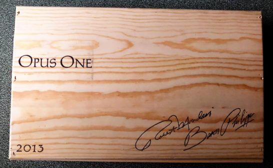 オーパスワンの木箱