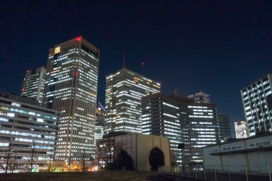 永田町・霞ヶ関の夜景