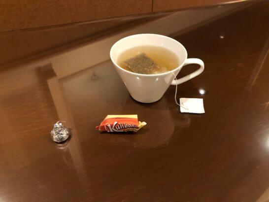 ウェスティンホテル東京のエグゼクティブ・クラブのカモミールティー