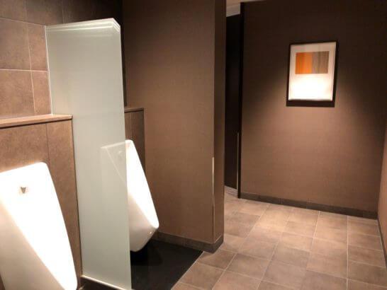 サクララウンジ(羽田空港国際線)のトイレ