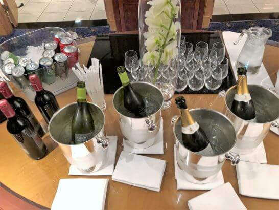 ウェスティンホテル東京 エグゼクティブ クラブラウンジのワイン類