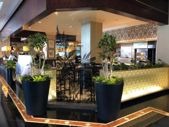 ウェスティンホテル東京のザ・テラス