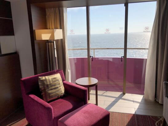 シェラトン・グランデ・トーキョーベイ・ホテルのクラブルームの窓