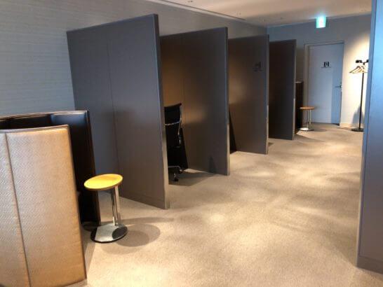 サクララウンジ(羽田空港国際線)のビジネス向けのゾーン