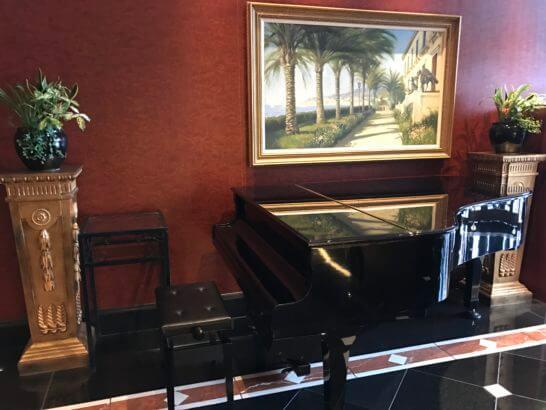 ウェスティンホテル東京のピアノ
