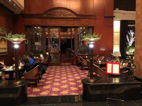 ウェスティンホテル東京のザ・バー(夜)