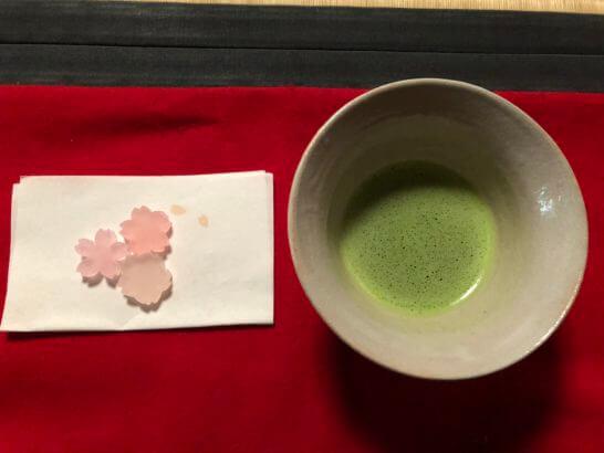 抹茶・お菓子